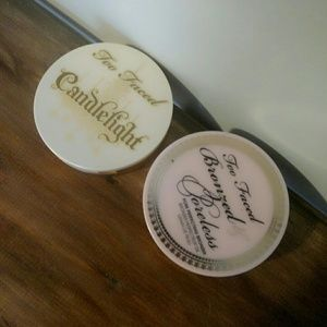 Too faced candlelight face powder and bronzer